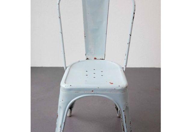 Chaises de Jardin Modèle A par Xavier Pauchard pour Tolix, 1930s, Set de 2