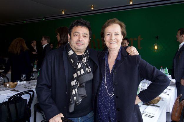 Charles Zana et Marie-Claire Blanckaert (ELLE Décoration)