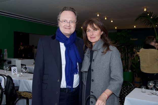 Jean-Cyrille Boutmy (Paul Bert Serpette) et Caroline Pois (ELLE Décoration)