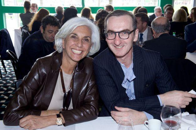 Linda Pinto (Alberto Pinto) et Bruno Frisoni (Roger Vivier)