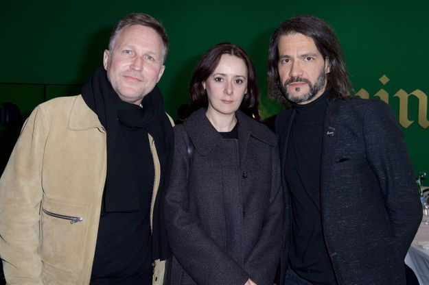 Stéphane Parmentier, Marie Laure Bellanger (EEM studio)  et Bosset (EEM studio)