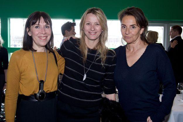Sylvie de Chirée (ELLE Décoration), Sarah Lavoine et Constance Benqué (ELLE Décoration)
