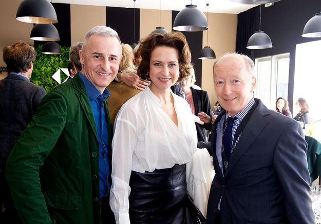 Hervé Van der Straeten (designer), Hélène Dubrule (Hermès), David Caméo (MAD)