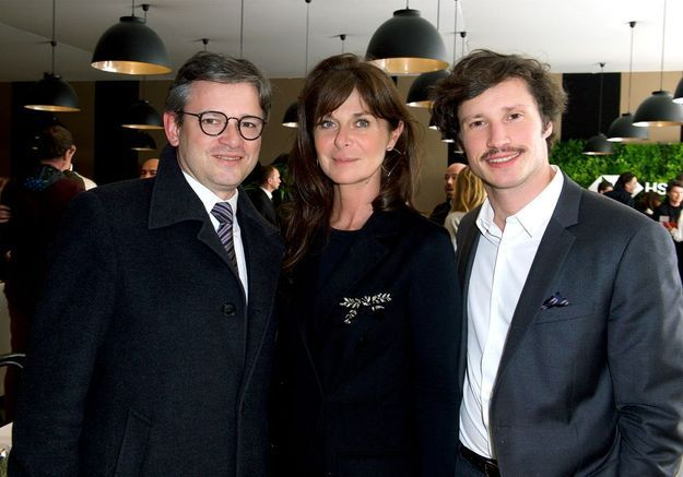 Jean-Charles Tréhan (LVMH), Caroline Pois (ELLE Décoration), Fabien Vallérian (Ruinart)