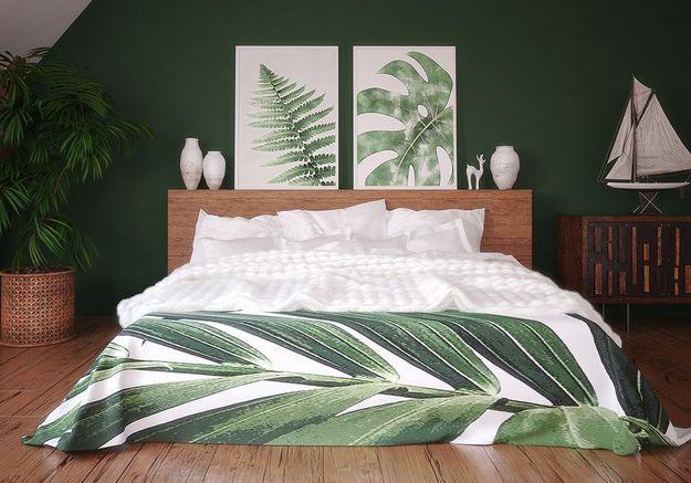 Peinture pour chambre : 5 teintes pour un bon sommeil - ELLE ...