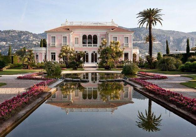 La villa Ephrussi glamour a l italienne
