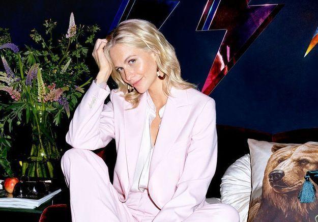 Poppy Delevingne craque pour la nouvelle collection H&M Home dans la déco de sa maison