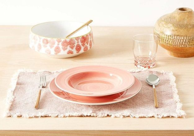 Un set de table délavé soldé Zara Home