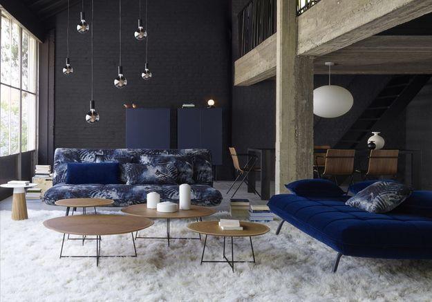 Déco Canapé Bleu Marine : La décoration bleu marine nous inspire et vous elle