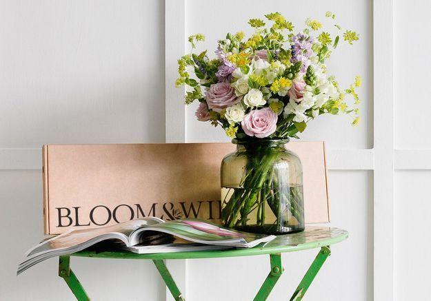 Un bouquet de fleurs pastel