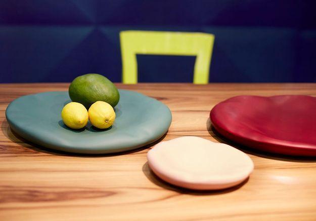Les plats à modeler