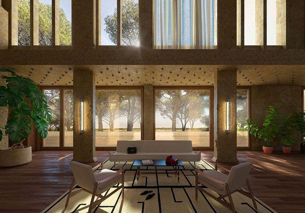 Virtuelle mais design, découvrez la Villa Valentino