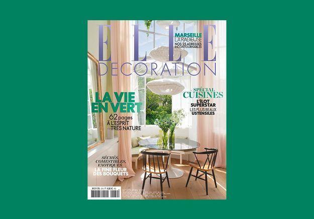 Voyez la vie en vert avec votre nouveau magazine ELLE Décoration