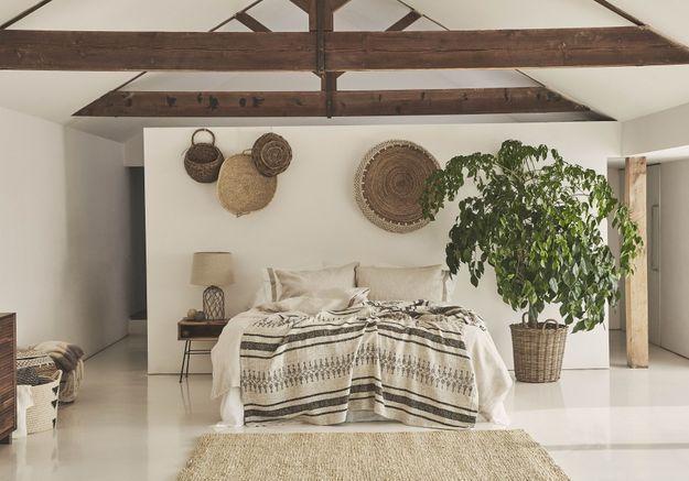 La chambre ethnique chez Zara Home