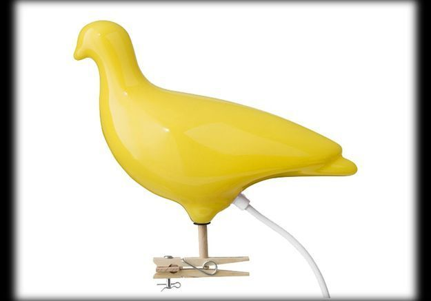 Applique Pigeon Light Design Ed Carpenter Design de Collection