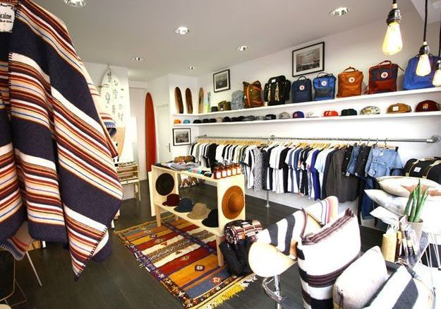 Concept-store à Biarritz : Helder Supply Store