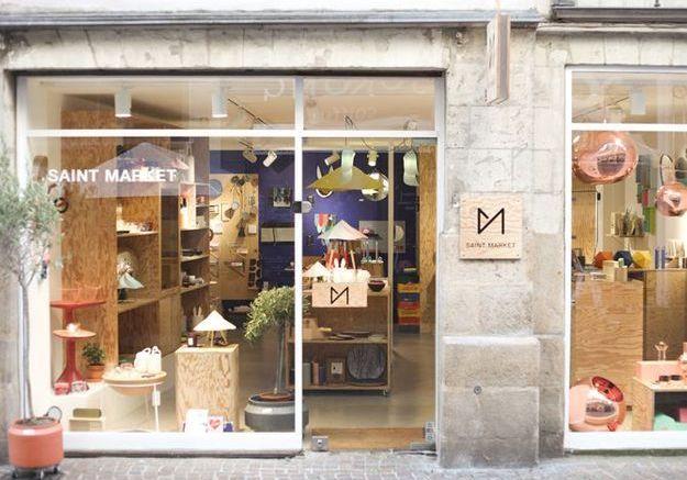 Concept-store à Nantes : Saint Market