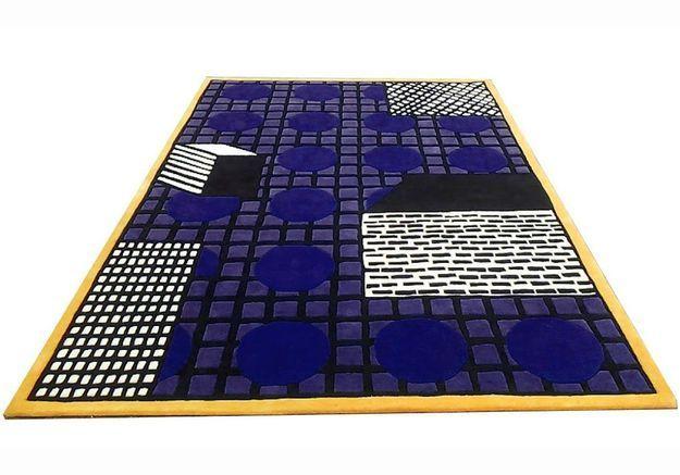 Un tapis graphique et coloré