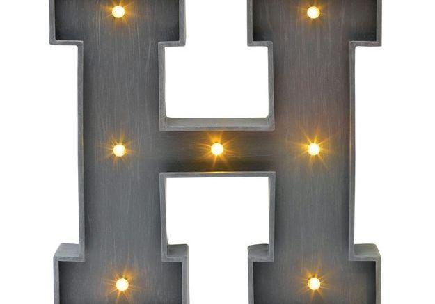 Lettre lumineuse Conforama