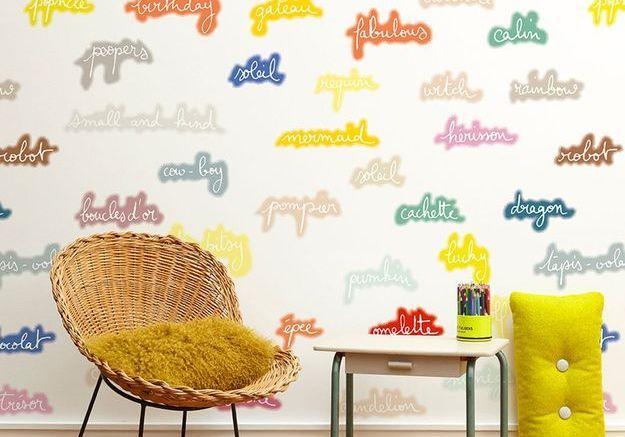 Papier peint Minakani Lab pour Maison M Paris
