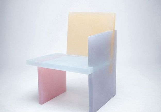Chaise pastel