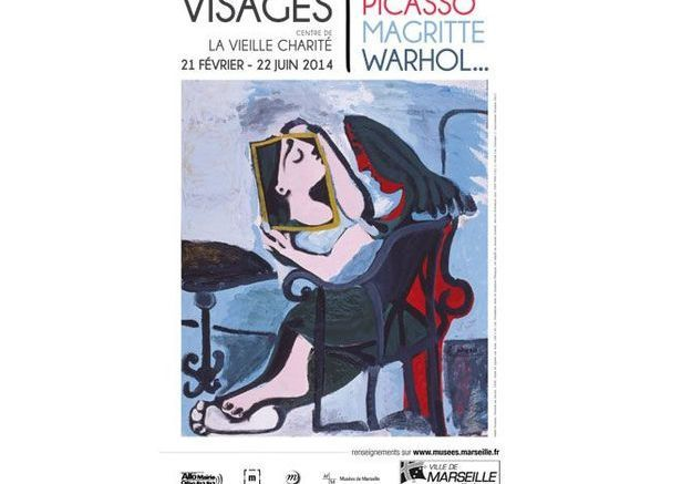 Visages, Picasso, Magritte, Warhol/ Marseille