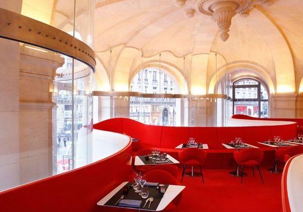 Le restaurant de l'Opéra à l'Opéra Garnier