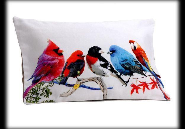 Coussin oiseaux Amadeus