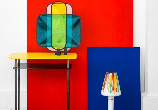 Des meubles et objets en couleur pour une maison vitaminée