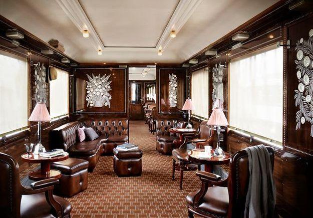 Le bar du Train Bleu
