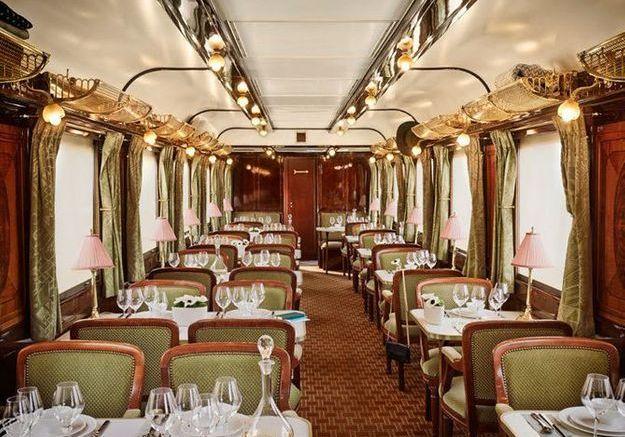 Le restaurant de l'Orient Express