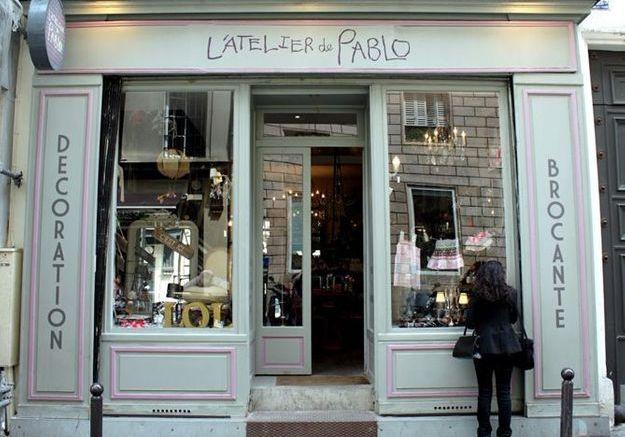boutique pablo paris