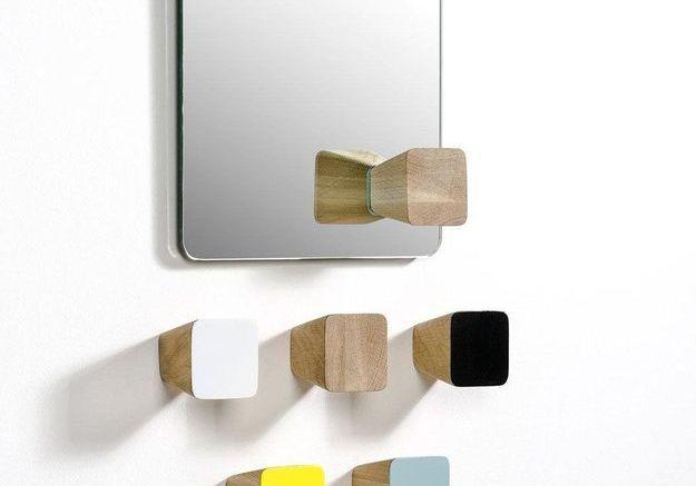Miroir avec patères design