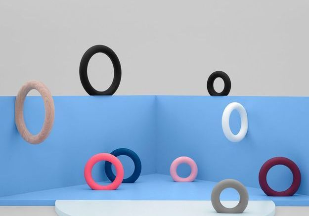 Patères design circulaires