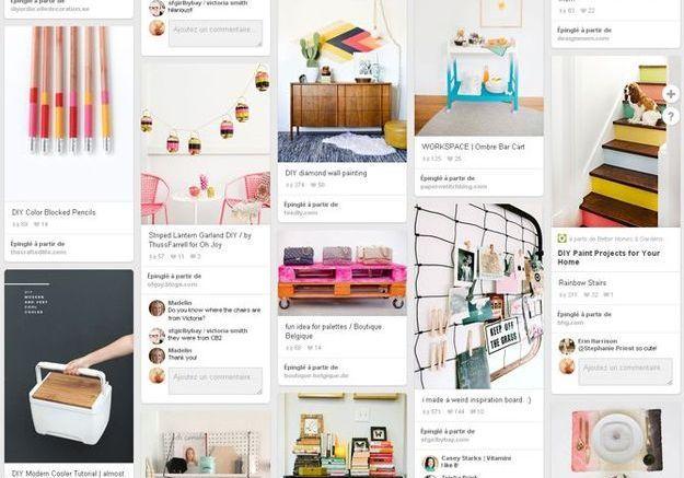 DIY : les comptes Pinterest à connaître absolument !