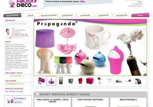 Factorydeco.com : à la demande
