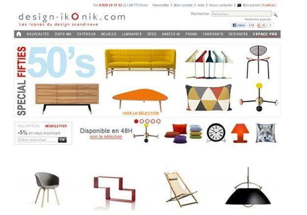 déco scandinave : les boutiques en ligne à ne pas manquer - elle ... - Boutique Design Scandinave Meubles