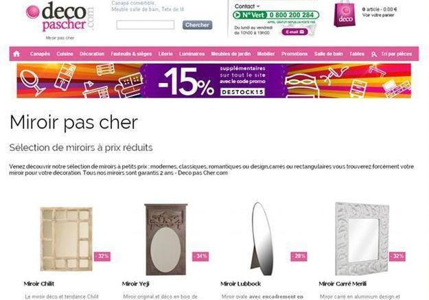 Pour les passionnés de meubles : decopascher.com