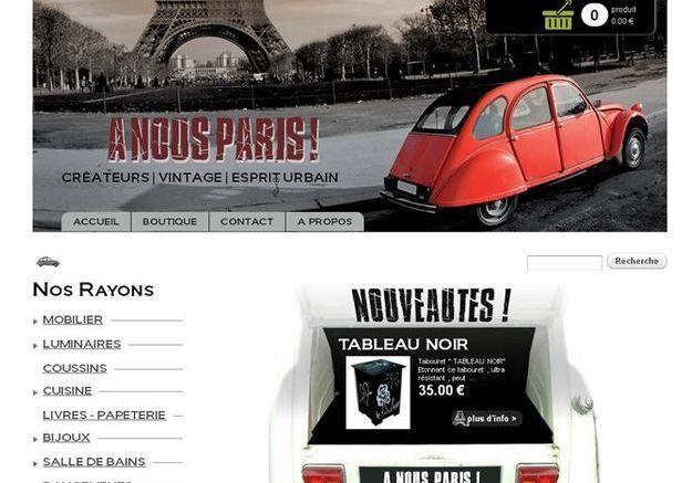 Pour les amoureux de la Capitale : À nous Paris !