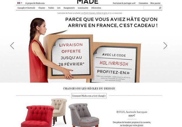 Made.com, le p'tit nouveau