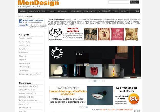 Mon Design.com, pour les éclairages