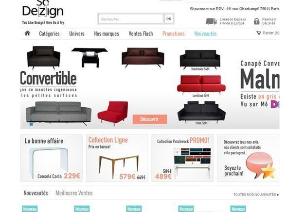 So Dezign.com, bon choix