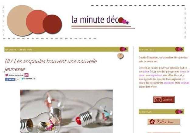 Isabelle Donnadieu pour La Minute Déco