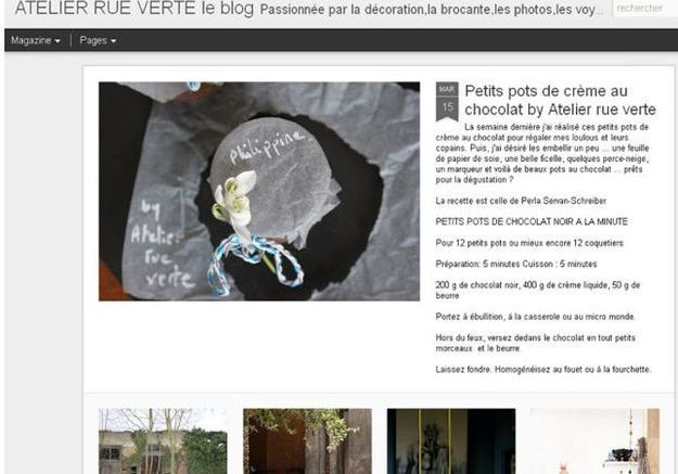 Valérie pour Atelier Rue Verte