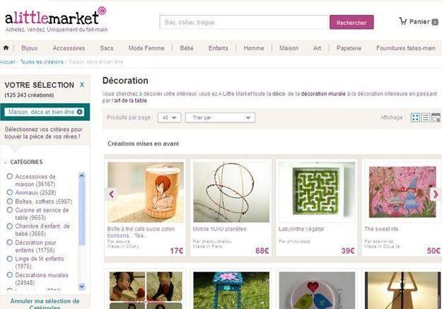 A little market.com, que du fait-main