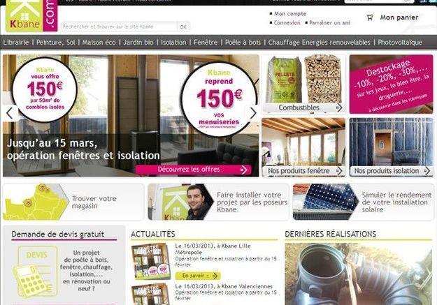 Kbane.com, comme dans un magasin