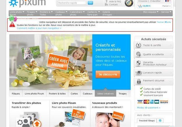 Pour les créatifs : pixum.fr