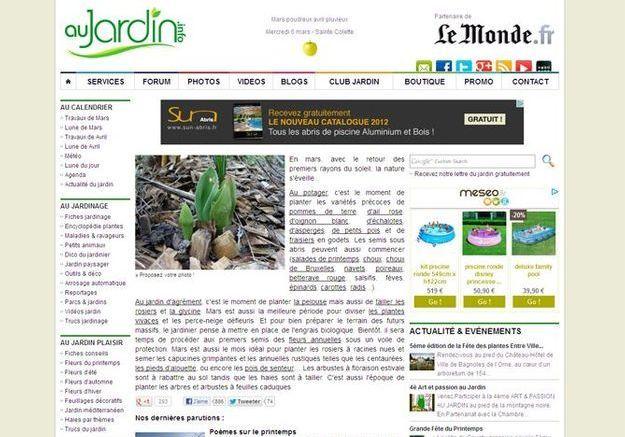 Sites web autour du jardin nos chouchous elle d coration for Jardin l encyclopedie