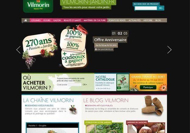 Vilmorin.fr, très pro