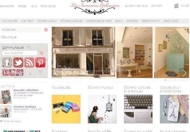 Stickers les boutiques en ligne que vous aimerez elle Boutique en ligne decoration maison